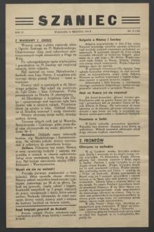 Szaniec. R.6, nr 37 (10 września 1944) = nr 143