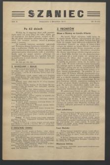 Szaniec. R.6, nr 39 (12 września 1944) = nr 145