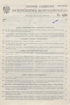 Dziennik Urzędowy Województwa Nowosądeckiego. 1988, nr 6 (31 marca)