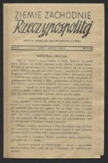 Ziemie Zachodnie Rzeczypospolitej : dodatek miesięczny Rzeczypospolitej Polskiej. R.3, nr 2 (luty/marzec 1944) = nr 10