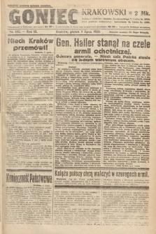 Goniec Krakowski. 1920, nr185