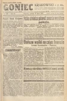 Goniec Krakowski. 1920, nr186