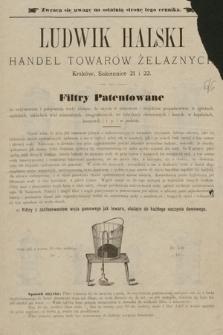 Ludwik Halski Handel Towarów Żelaznych