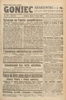 Goniec Krakowski. 1920, nr197