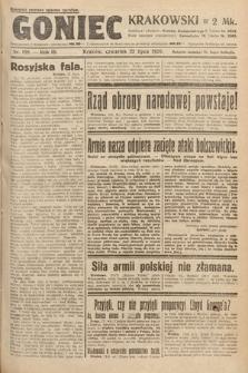 Goniec Krakowski. 1920, nr198