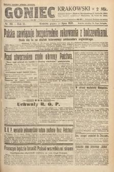 Goniec Krakowski. 1920, nr199