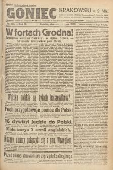 Goniec Krakowski. 1920, nr201
