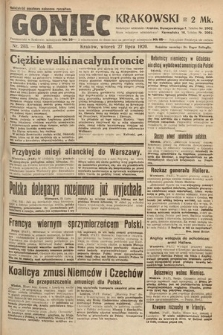 Goniec Krakowski. 1920, nr203