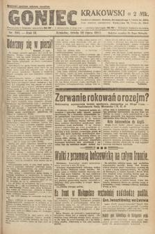 Goniec Krakowski. 1920, nr204
