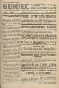 Goniec Krakowski. 1920, nr206