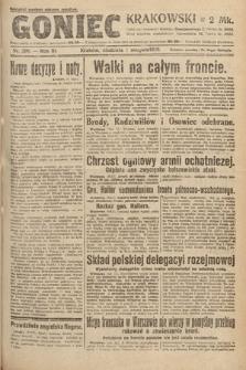Goniec Krakowski. 1920, nr208