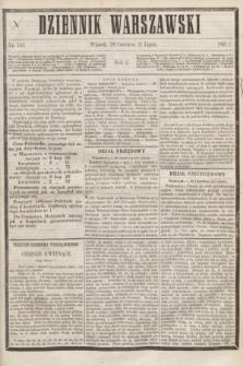 Dziennik Warszawski. R.2, nr 152 (11 lipca 1865)