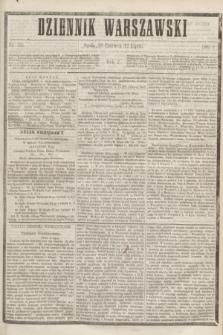 Dziennik Warszawski. R.2, nr 153 (12 lipca 1865)