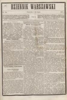 Dziennik Warszawski. R.2, nr 154 (13 lipca 1865)
