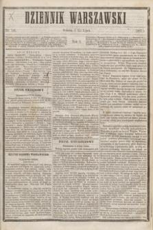Dziennik Warszawski. R.2, nr 156 (15 lipca 1865)