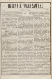 Dziennik Warszawski. R.2, nr 157 (16 lipca 1865)