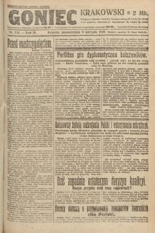 Goniec Krakowski. 1920, nr216
