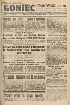 Goniec Krakowski. 1920, nr217
