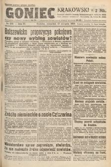 Goniec Krakowski. 1920, nr219
