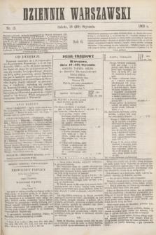 Dziennik Warszawski. R.6, nr 15 (30 stycznia 1869)