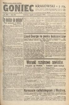 Goniec Krakowski. 1920, nr220