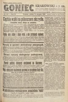 Goniec Krakowski. 1920, nr221