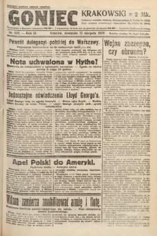 Goniec Krakowski. 1920, nr222