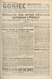 Goniec Krakowski. 1920, nr223