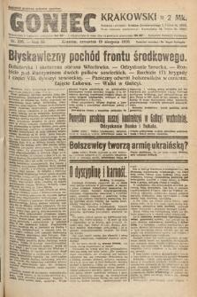 Goniec Krakowski. 1920, nr226