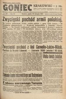 Goniec Krakowski. 1920, nr227