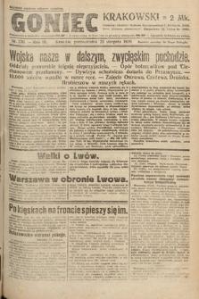 Goniec Krakowski. 1920, nr230