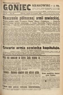 Goniec Krakowski. 1920, nr231