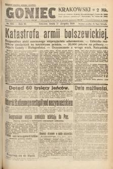 Goniec Krakowski. 1920, nr232