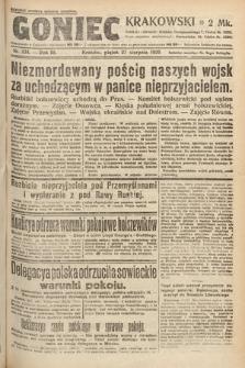 Goniec Krakowski. 1920, nr234