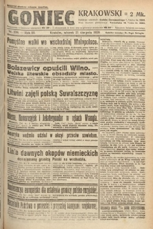 Goniec Krakowski. 1920, nr238