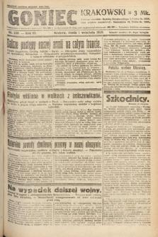 Goniec Krakowski. 1920, nr239