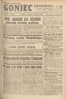 Goniec Krakowski. 1920, nr245