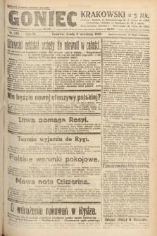 Goniec Krakowski. 1920, nr246