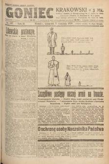 Goniec Krakowski. 1920, nr247