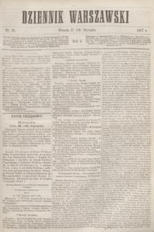 Dziennik Warszawski. R.4, nr 23 (29 stycznia 1867)