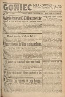 Goniec Krakowski. 1920, nr249