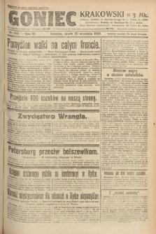 Goniec Krakowski. 1920, nr253