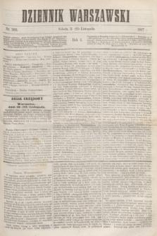 Dziennik Warszawski. R.4, nr 260 (23 listopada 1867)