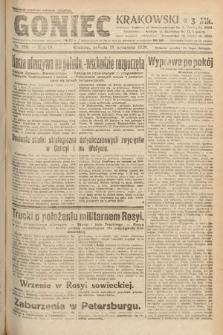 Goniec Krakowski. 1920, nr256