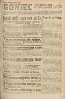Goniec Krakowski. 1920, nr258