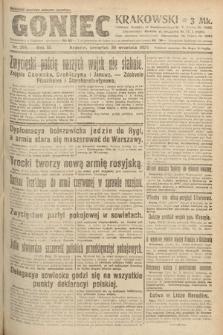 Goniec Krakowski. 1920, nr268