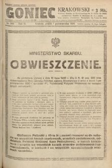 Goniec Krakowski. 1920, nr269