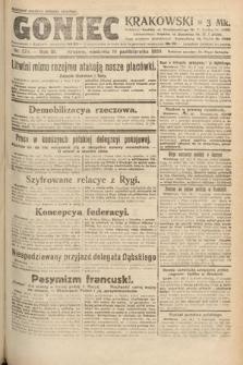 Goniec Krakowski. 1920, nr278