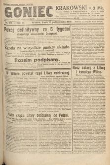 Goniec Krakowski. 1920, nr281