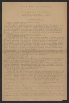 Wiadomości z Miasta i Wiadomości Radiowe. 1944, nr 19 (12 sierpnia)